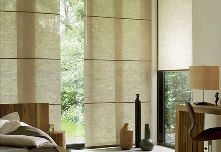 De washi en wood paneelgordijn specialist in amsterdam heeft de